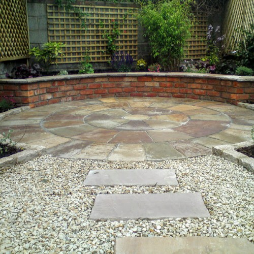 Circle Patio Design