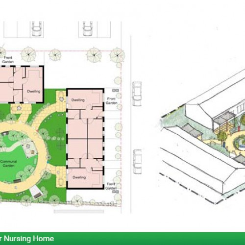 Dementia Friendly Prototype Garden for Supported Housing or Nursing Home