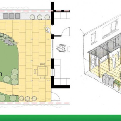 Dementia Friendly Prototype Garden for Single Dwelling