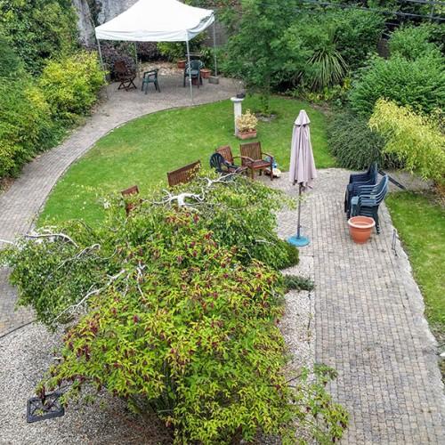 St. Clare's Garden - Before