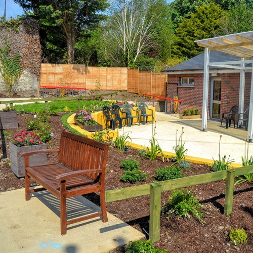 Dementia Friendly Garden Complete
