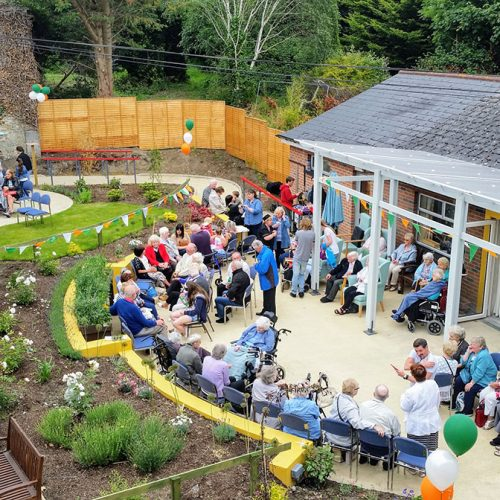 Completion of St. Clare's Dementia Friendly Garden