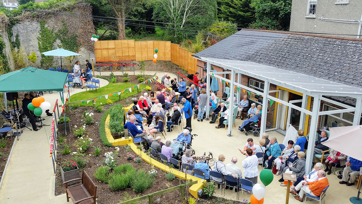 Dementia Friendly Gardens Ireland Care Home Gardens Ireland